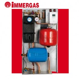 Cambiocaldaiaonline.it IMMERGAS Gruppo Idronico GAUDIUM Solar Plus 2 ZONE V2 Cod: G3027829-20