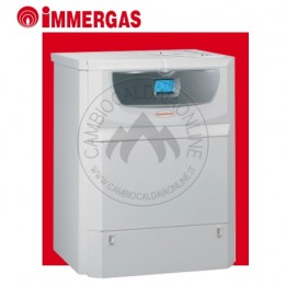 Cambiocaldaiaonline.it IMMERGAS HERCULES MINI CONDENSING 32 ErP (32kW riscald.to/ sanitario + 19.5 lt/min+ boiler 54 lt) Cod: 3.025491-20