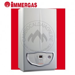 Cambiocaldaiaonline.it IMMERGAS MINI NIKE 24 ErP (24kW riscald.to/sanitario + 11.4 lt/min) Cod: 3.025589-20