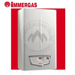 Cambiocaldaiaonline.it IMMERGAS NIKE STAR 24 ErP (23.6kW riscald.to/ sanitario + 11.3 lt/min) Cod: 3.027062-20