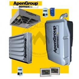 Cambiocaldaiaonline.it NOLEGGIO APEN GROUP Kit AQUAKOND AKY032 + AB032 + Q350 (Caldaia 31kW + Aerotermo 32kW + Destrat. 7.500 mc/h + H 7mt * 147mq * 1033mc) Cod: AKY032IT+AB032IT+Q350-20