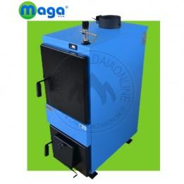 Cambiocaldaiaonline.it MAGA Termo-stufa in acciaio a legna SERIE D (solo riscaldamento + senza accessori + bruciatore diretto) Cod: D-20