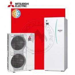 Cambiocaldaiaonline.it MITSUBISHI sistema split ECODAN Medium ERST 20C-VM2C/PUHZ-SW 100VHA (u.est 2.52 kW elett + u.int 11.20 kW term + acs 200lt + Tmax 55°/-20°) CALDO and FREDDO + APP Cod: ERST20C-VM2C/PUHZ-SW100VHA-20