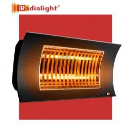 Cambiocaldaiaonline.it RADIALIGHT Lampada riscaldante OASI LOW GLARE IR-B (Potenza 1000/2000 W 230V 8.7A L60 x H25 x SP23 cm) Cod: OASI2000W-B-20