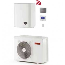 Cambiocaldaiaonline.it ARISTON pdc monoblocco NIMBUS PLUS M NET (4.0 a 11 kW raffr.to + 4.1 a 11 kW risc.to + acs 180lt + Tmax 60°) CALDO and FREDDO + APP Cod: PLUS3301-20
