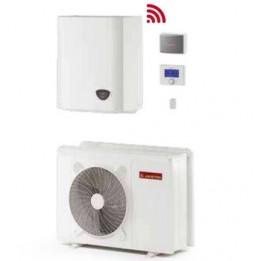 Cambiocaldaiaonline.it ARISTON sistema split NIMBUS PLUS S NET (4.0 a 11 kW raffr.to + 4.1 a 11 kW risc.to + acs 180lt + Tmax 60°) CALDO and FREDDO + APP Cod: PLUSS330-20