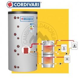 Cambiocaldaiaonline.it Cordivari PUFFER 2 VB (Vol da 478 a 805 lt + H= da 1620 a 1840 D=750 / 950 mm) Cod: 325116231270-20