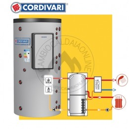 Cambiocaldaiaonline.it Cordivari PUFFERMAS 1 VB HE + MACS accumulo acqua riscaldamento + ACS Cod: 325116231470-20