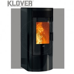Cambiocaldaiaonline.it Klover stufa a pellet air REA GLASS 9.5 kW Cod: R100G-20