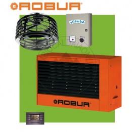 Cambiocaldaiaonline.it ROBUR Generatore daria calda pensile G60 (Potenza termica 56kW + Miscelatore 10.000 mc/h + h 7mt * 270mq * 1890mc) Cod: F12712110+-20