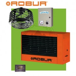 Cambiocaldaiaonline.it ROBUR Generatore daria calda pensile K32 (Potenza termica 29kW +Miscelatore 10.000 mc/h + h 7mt * 135mq * 945mc) Cod: F12366120+-20