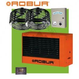 Cambiocaldaiaonline.it ROBUR Generatore daria calda pensile G100 (Potenza termica 90kW + Miscelatore 10.000 mc/h + h 7mt * 430mq * 3010mc) Cod: F12711110+-20