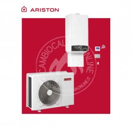 Cambiocaldaiaonline.it ARISTON Kit ibrido GENUS ONE HYBRID NET (da 22 a 31 kW riscald.to + da 26 a 34.5 kW sanitario, da 15.4 a 19.8 lt/min) Cod: 330124-20