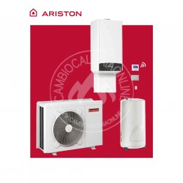 Cambiocaldaiaonline.it ARISTON Kit ibrido GENUS ONE HYBRID FLEX NET (22/31 kW riscald.to + bollitore 180 lt) Cod: 330125-20