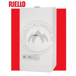 Cambiocaldaiaonline.it Riello START CONDENS (fino a 25kW riscald.to + fino a 29kW sanitario + 14,3 lt/min) Cod: 201149-20