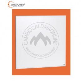 Cambiocaldaiaonline.it Kit SUNSHINE 350W da 60x60 controsoffitto a quadrotti 130 mq (6,3kW Termici + 3,15kW/h Elettrici + 18 pannelli + Domotica + EM) Cod: SUN35018-20