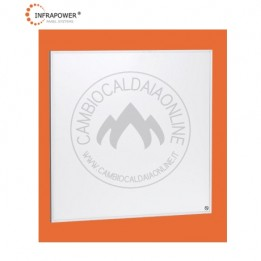 Cambiocaldaiaonline.it Kit SUNSHINE 350W da 60x60 controsoffitto a quadrotti 200 mq (9,1kW Termici + 4,55kW/h Elettrici + 26 pannelli + Domotica + EM) Cod: SUN35026-20