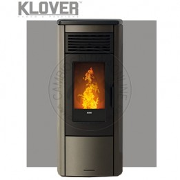 Cambiocaldaiaonline.it Klover termostufa a pellet / air THERMOAURA 15 kW Cod: HA-20