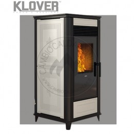 Cambiocaldaiaonline.it Klover termostufa a pellet / air THERMOCLASS gas 15 kW Cod: HCL-20