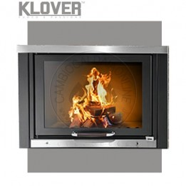 Cambiocaldaiaonline.it Klover termocamino a legna TKR 24 20.6 kW Cod: TKR2-20