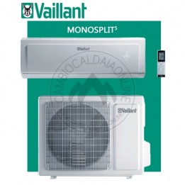 Cambiocaldaiaonline.it Vaillant climaVAIR exclusive VAI 5 Mono taglie 25-35-50-65 WN (kW raff da 2.70 a 7.00 + kW risc da 2.93 a 7.20) R32 Classe A+++ Cod: 001002264-20