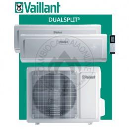 Cambiocaldaiaonline.it Vaillant climaVAIR exclusive VAM 5 Dualsplit (kW raff da 4.10 a 5.20 + kW risc da 4.40 a 5.40) R32 Classe A++ Cod: 001002266-20