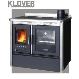 Cambiocaldaiaonline.it Klover cucina a legna tradizionale VESTA INOX / MAIOLICA 13.8 kW Cod: VS94-20
