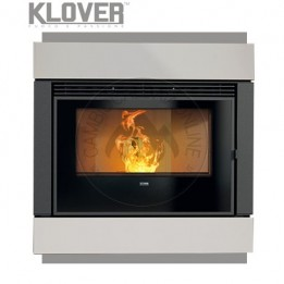Cambiocaldaiaonline.it Klover Inserto Pellet / Legna Air WAVE 90 gas 8.6 kW Cod: W90-20