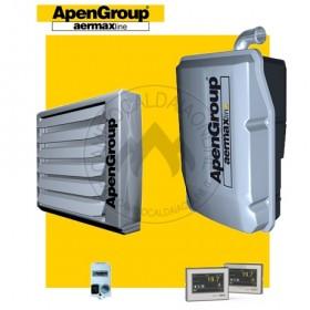 NOLEGGIO - APEN GROUP Kit AQUAKOND AKY034 + AB034 (Caldaia 34,8kW + Aerotermo da 34kW da 4.300mc/h + H 7mt * 165mq * 1160mc)