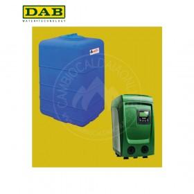 DAB kit Sistema di pressurizzazione automatico compatto E.SYBOX MINI + serbatoio di prima raccolta (fino 80 l/min + prevalenza 55 m)